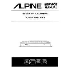[SCHEMATICS_49CH]  ALPINE 3528 - Service Manual Immediate Download | Alpine 3528 Wiring Diagram Amp |  | ManualsCenter.com