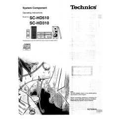 TECHNICS manuals starting with SB, SC - page 5