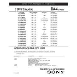 Sony Trinitron Xbr Manual Download