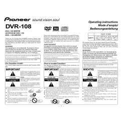 PIONEER DVR-107CHE DRIVER FOR WINDOWS 8