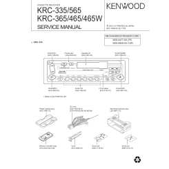 Marvelous Kenwood Krc365 Service Manual Immediate Download Wiring Digital Resources Nekoutcompassionincorg