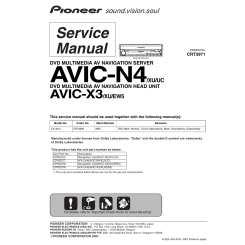 PIONEER AVIC-X3/XU/EW5 - Service Manual Immediate Download
