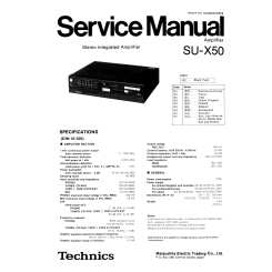TECHNICS manuals starting with SUM, SUV, SUX, SUZ, SV - page 3