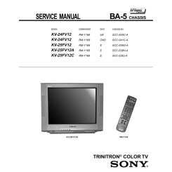 SONY KV25FV12A - Service Manual Immediate Download